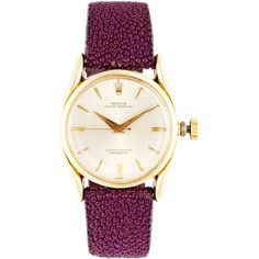 CMT Fine Watch and Jewelry Advisors Vintage Rolex 14K Yellow Gold Oyster Perpetual Bubble-Back Watch