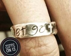 Visible Faith Jewelry - Let Go #wearablegifts #styled
