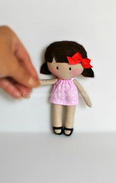 NEW! Micro MTTD Dolly by cookyousomenoodles.com