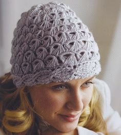 Cables and lace hat