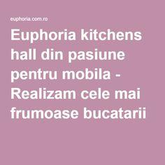 Euphoria kitchens hall din pasiune pentru mobila - Realizam cele mai frumoase bucatarii