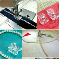 Zipper Foot For All Automatic Sewing Machines (Singer/ Usha/ Brother/ Rajesh) Sewing Tools, Sewing Hacks, Sewing Tutorials, Sewing Crafts, Sewing Projects, Sewing Patterns, Sewing Classes For Beginners, Couture Sewing Techniques, Quilt Square Patterns