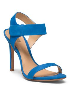 Suede Ankle Strap Heeled Sandal - Shoes - T.J.Maxx