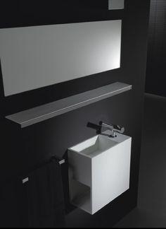 Meubles de salle de bain en corian Cosmic                                                                                                                                                                                 Plus