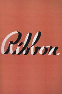 Frin Scripts: Elegan Lettering from Design's Golden Age - Ribbon