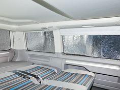 ISOLITE® Inside gibt es für fast alle Seitenfenster der VW T6/T5 Multivan und Kombi Modelle, einschließlich für VW T6/T5 California Beach.