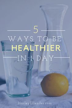 5 habits you need to incorporate into your daily routine for a healthier life! Incorporate these healthy living tips and feel so much better in less than one day! Paleo Desert Recipes, Real Food Recipes, Healthy Recipes, Lunch Recipes, Healthy Snacks, Healthy Living Tips, Healthy Habits, Calories In Vegetables, Ways To Be Healthier