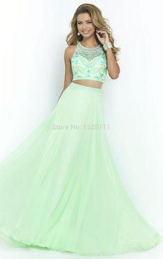 crop top long dresses