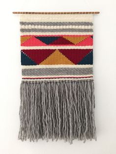 While perusing my saved sites , particularly those featuring wall hangings, I came across Woven Laine on etsy . Tapestry Weaving, Loom Weaving, Wall Tapestry, Hand Weaving, Macrame Patterns, Crochet Patterns, Anchor Wall Art, Diy And Crafts, Arts And Crafts