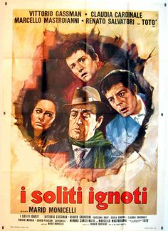 "SOLITI IGNOTI, I"" MOVIE POSTER - ""I SOLITI IGNOTI"" MOVIE POSTER"