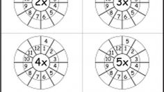 Times Table Worksheet - 2-12 Times Tables - Two Worksheets
