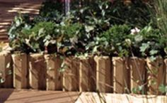 Visuel de bordures en bois