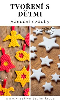 Christmas Crafts, Christmas Decorations, Diy Decoration, Diy For Kids, Gingerbread Cookies, Diy Crafts, Diy Decorating, Gingerbread Cupcakes, Xmas Crafts