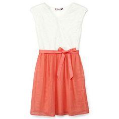Speechless® Two-Tone Dress w/ Ribbon Belt - Girls 7-16 - jcpenney