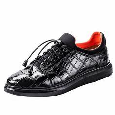 Fashion Alligator Sneaker, Luxury Alligator Sneaker for Men #MensFashionAccessories