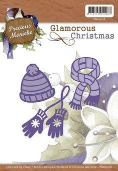 Die - Precious Marieke - Glamorous Christmas - Winter Wear  PM10018