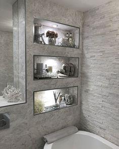 ✔ top 45 best modern bathroom with wall mounted ideas in 2019 32 ✔ top 45 bestes modernes bad mit wandmontierten ideen im jahr 2019 31 Bathroom Inspo, Basement Bathroom, Bathroom Inspiration, Small Bathroom, Bathroom Ideas, Stone Bathroom, Bathroom Grey, Budget Bathroom, Bathroom Wall