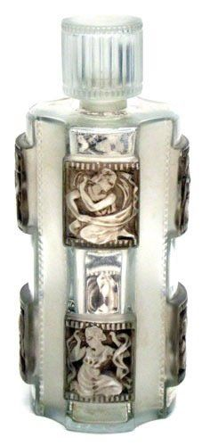 Rene Lalique Perfume Bottle Helene circa 1942 - Let me hold you in my arms and you can feel my love for you.