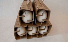Designer: Hannah Wong Country: United States Create a packaging solution that will protect four duck eggs through transportation a...