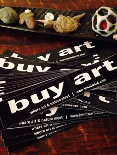 Why buy art? Jenni Ward ceramic sculpture | the dirt | Holiday Shopping...Why buy Art?