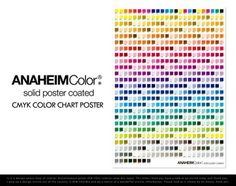 Vintage Printers Color Chart Cmyk By Sigilgoods On Etsy  Cmyk