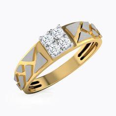 IJ| SI identification-bracelets Size 0.154 cttw Round-Cut-Diamond 18K Yellow Gold 7.75 inches