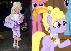 10 cose e persone a cui somiglia Lady Gaga #LadyGaga #lookalike #websista #people