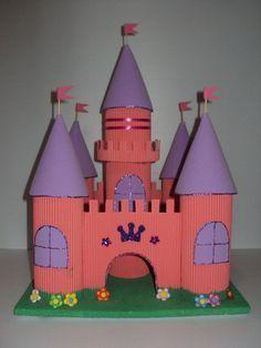 piñata castillo frozen - Buscar con Google