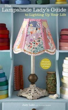 Learn how to make 50 custom lampshades and lamps in this book. I have it & it's awesome! A great hobby for winter time =). Follow link --->