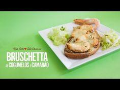 Bruschetta de Cogumelos e Camarão | SaborIntenso.com