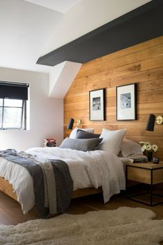 We are here with bedroom interior design models, this time we will share beautifully with bedroom interior design ideas that are trending for you. Bedroom Interior Design number 28 #BedroomIdeas #newBedroomDesign #BedroomInteriorDesign... New Bedroom Design, Bedroom Decor, Interior Design, Wood Paneling Decor, Design Model, Design Ideas, Models, Number, Furniture