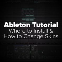 This is where and how to install user made Ableton Live Skins (.ask) files. Also, a quick note on how to change them in program and.. if that wasn't enough, some of my favorites! Grab my favorite skins for free! LT by Lance Thackery (designed Serum's GUI) – CLICK HERE LT&i by LLDlich – CLICK HERE …