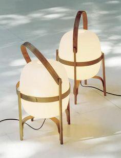 Cesta table lamps / Santa & Cole
