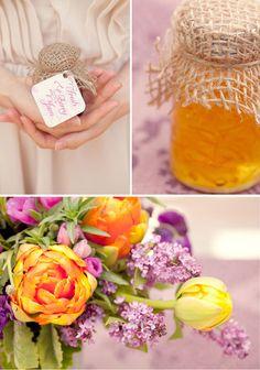 bridal_shower_brunch_rehearsal_dinner_franciscan_gardens_orange_purple_pink_centerpieces_1
