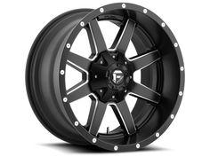 "2004-2017 F150 Fuel Maverick 20x9"" D538 Wheel (6x135mm/20mm Offset) Milled Black"