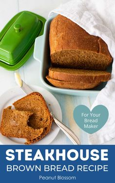 This easy bread machine recipe is a copycat version of the Outback Steakhouse brown bread. Just 5 minutes of prep time with your bread maker and you'll be ready to serve it with whipped honey butter for an amazing dinner side dish.