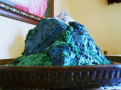 Tarta PEÑA UBIÑA #buttercream #mountain #bigcakes #riquísima