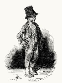 The chimney sweep, Paul Gavarni Edwardian Era, Victorian Era, Chimney Sweep, A Day In Life, Pinocchio, Georgian, Regency, Illustrators, North America
