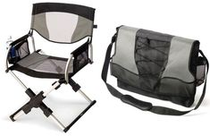 Messenger Bag Director's Chair Is My New Must-Have Accessory