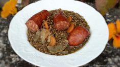 Lentilles et saucisses fumées au cookeo companion ou thermomix - Les recettes de sandrine au companion ou pas
