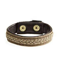 Aerie Braided Shimmer Bracelet