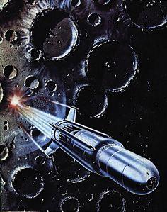 Space Family Stone by Gordon C Davies Fantasy Landscape, Fantasy Art, Retro Rocket, 70s Sci Fi Art, The Family Stone, Galaxy Background, Vintage Space, Sci Fi Books, Retro Futuristic