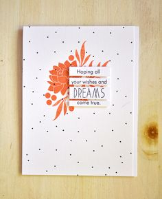 Modern sentiment - card by Maile Belles.