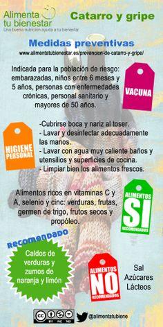 Medidas Preventivas para #gripe #catarro #resfriado