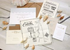 Modern Chevron Wedding Invitations by Meticulous Ink via Oh So Beautiful Paper (1)