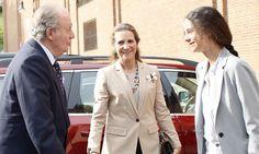 La imagen más cariñosa de don Juan Carlos con su nieta Victoria Federica