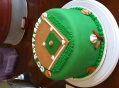 The season of baseball matches can be more jazzed up through the existence of a baseball cake. You will think that the baseball cake ideas are not bad at all by Baseball Field Cake, Baseball Theme Cakes, Baseball Birthday Cakes, Themed Birthday Cakes, Themed Cakes, Baseball Party, Baseball Display, Happy Birthday, Baseball Mom