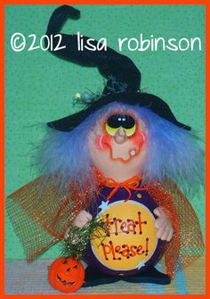 Ручная роспись ведьма Хэллоуин тыква Джек o фонарь Луны звезды лечат НР прим чик офг бзик