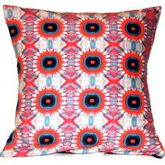 Fire Blossom Reversible Pillow
