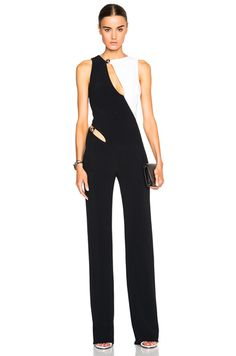 Bi Color Fitted Cady Jumpsuit - Love this! If only I had $3700 to spend like Bethenney Frankel....